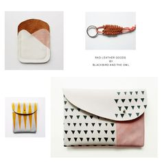 Blackbird and the owl leather goods