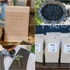 Country Rustic Outdoor Wedding Decorations