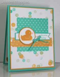 Something for Baby Little Duck Card