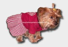 dog dress patterns