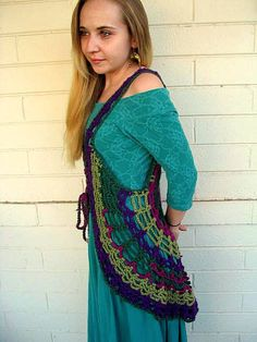 Spider Web Mandala Renaissance Vest PATTERN Make by elorascastle, $7.99