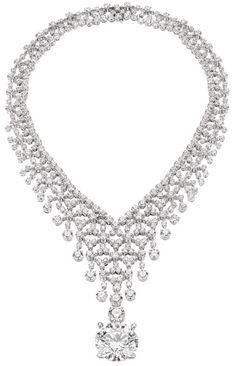 Bulgari diamond necklace...Woah!