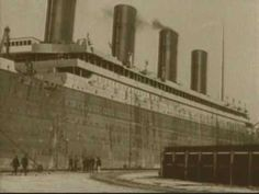 RMS Titanic Only Existing Footage