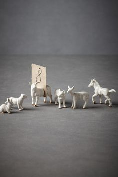 place card holders, white animals, escort cards, wedding decorations, place cards, photo holders, zoo animals, table numbers, animal photos