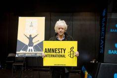 Bob Geldof for Amnesty International