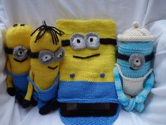 Ravelry: Minions tablet or I-pad cover pattern by Stana D.Sortor