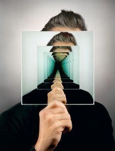Trippy Mirror Photo Created Without the Help of Photoshop