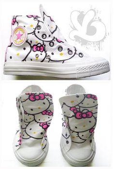 Hello Kitty converse. 78