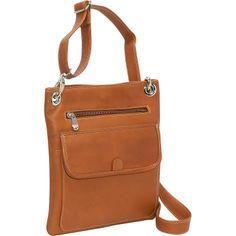 Le Donne Leather Slim Crossbody Bag