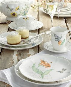 Lenox Butterfly Meadow Dinnerware Collection