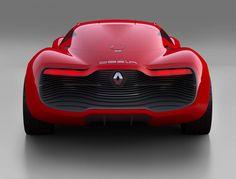 Renault Dezir, rear
