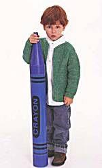 Image of Correction to Basic Child's Cardigan