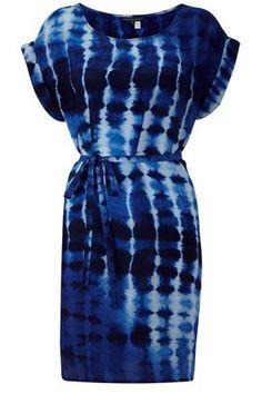tie die dress - like the colors