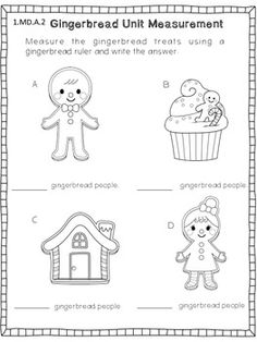 Gingerbread men on Pinterest | Gingerbread Houses, Math and Retelling