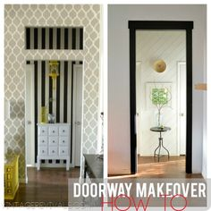 How To Demo and Case In A Doorway