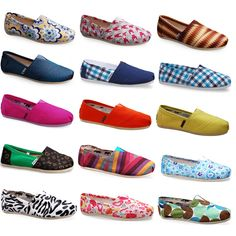 TOMS shoes. They are beautiful.Holy cow Some less than $20 I'm gonna love this site!#shoes #2014 #Toms