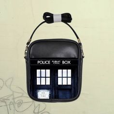 Dr Who Tardis Police Box Custom Girls Sling Shoulder by nerobags, $14.99