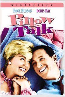 film, talk 1959, dorisday, pillow talk, rock hudson, favorit movi, doris day, rocks, pillows