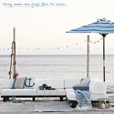 By the sea (West Elm)
