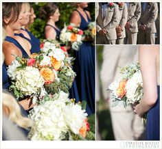 Balboa Bay Resort Wedding | Nautical wedding Newport Beach organic wedding bouquet | Mallory and Austin