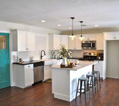 Shape Kitchen on Pinterest | Mobile Home Redo, 10x10 Kitchen and Ki