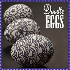 Use Wilton FoodWriter edible color markers as your doodling tool for Easter Egg decorating.