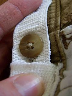 DIY elastic waist pant for little ones
