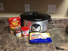 Super Easy Crock Pot Chicken and Stuffing