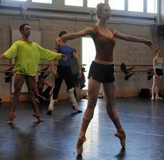 Seconde en pointe. point danc, danc ballet, échappé, passion, dancer, en point