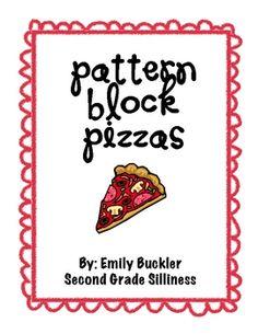 Pattern Block Pizzas
