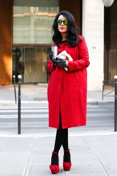 Paris Fashion Week Fall 2013 Attendees Pictures - StyleBistro