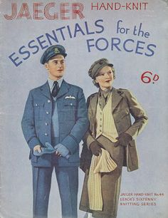 Serendipity Handmade: Essentials for the Forces and More: free 1940s Knitting Patterns