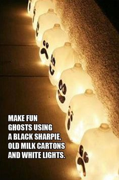 DIY Halloween Ghosts Pictures, Photos, and Images for Facebook, Tumblr, Pinterest, and Twitter