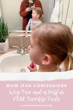 Mom Jean Confessions: Why Two and a Half is PEAK Terrible Twos