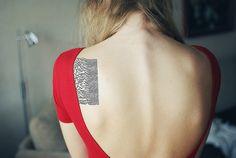 #back #tattoo Joy Division