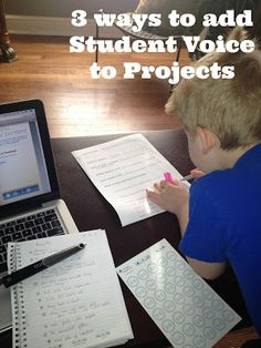 Kleinspiration: 3 Ways to Add Student Voice to Anything!
