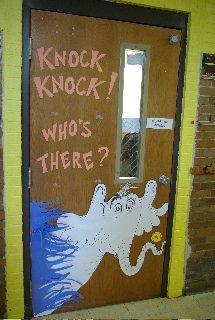 Dr. Seuss Preschool Theme | dr seuss birthday door in celebration of dr seuss birthday mrs morton ...