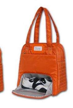 Awesome shoe compartment! Puddle Jumper Bag. Need this for the gym