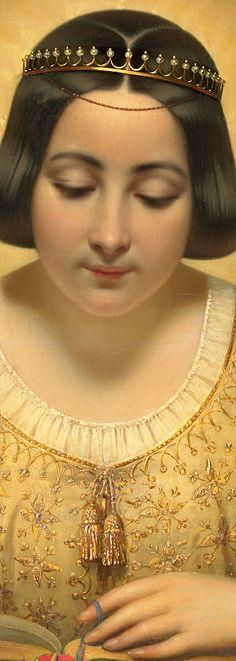 Joseph-Desire Court (1797-1865), Countess de Pagès, née de Cornellan, as St Catherine