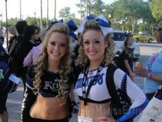 Maryland Twisters Cheerleading Hair and Makeup