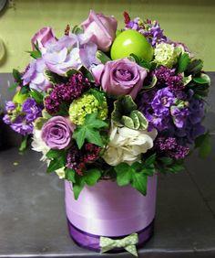 Purple weddings are just glamorous