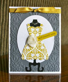 Stampin' Up! Card by Krystals Cards and More: Spoil yourself today!!