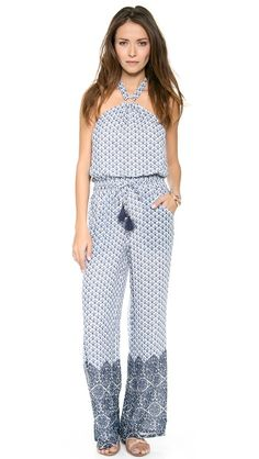 Tory Burch Baja Jumpsuit perfect for summer!