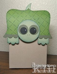 Tommy Turtle adorable punch art