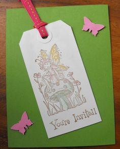 Woodland Fairy Invite