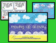 Moving up activity - step up day