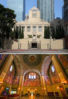 The Los Angeles Central Library in Los Angeles, California