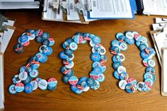 OFA Virginia's countdown spelled out in pins—and now we've pinned it #meta