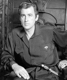 """Stewart Granger en """"El Prisionero de Zenda"""", 1952"""