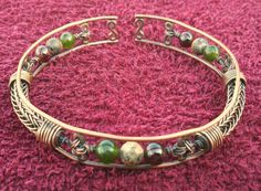 Love. Love. Love this!    Mens Copper Viking Knit / Wire Wrapped Bracelet  by NorseFindings, $40.00